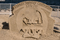 Yarmouth Sand Sculpture Trail 2017